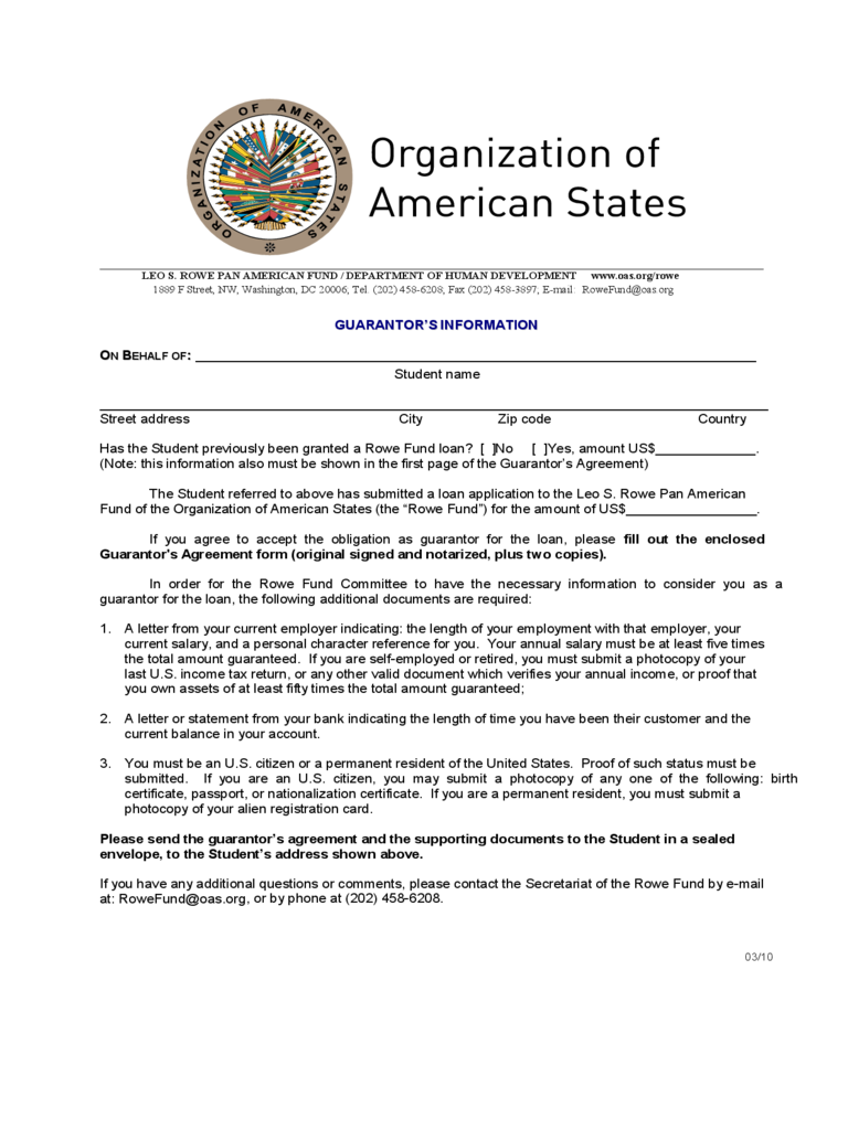 Guarantor agreement form 16 free templates in pdf word excel guarantor agreement united states altavistaventures Gallery