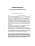 Guarantor Agreement Free Download