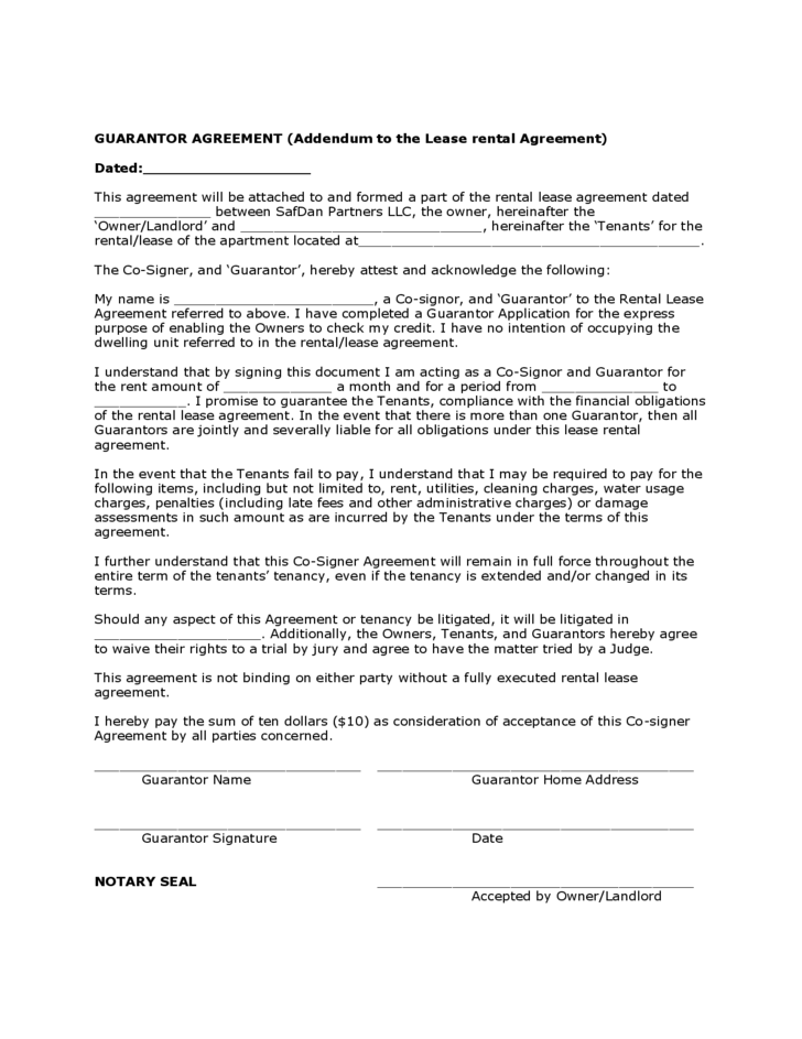 Guaranty agreement template recourse guaranty agreements contracts in this guaranty two corporations guarantee the debt of an affiliate corporation altavistaventures Images