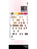 Hair Color Sample Chart Free Download