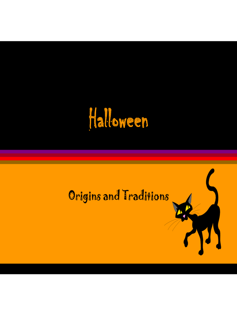 Sample Halloween Powerpoint