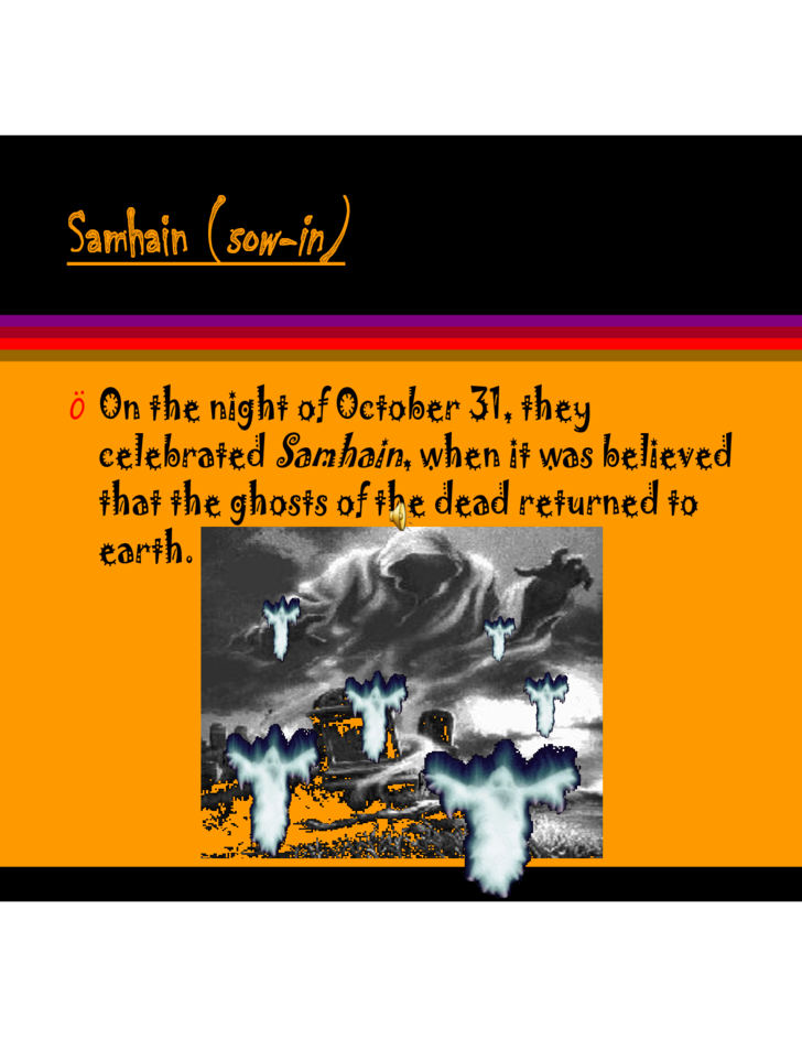 Sample Halloween Powerpoint Free Download