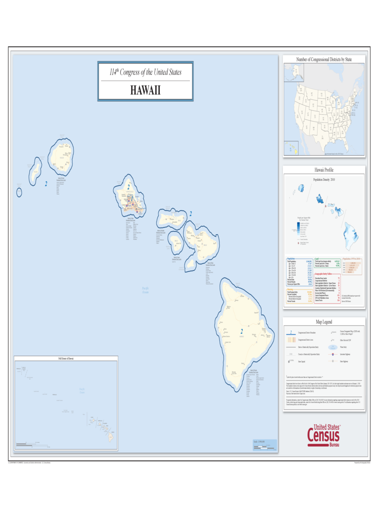 Hawaii Congressional District Map