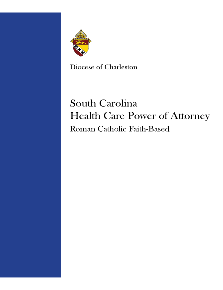 Health Care Power of Attorney - South Carolina