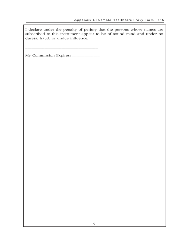 Doc495600 Medical Proxy Form Free Medical Power of Attorney – Health Care Proxy Form