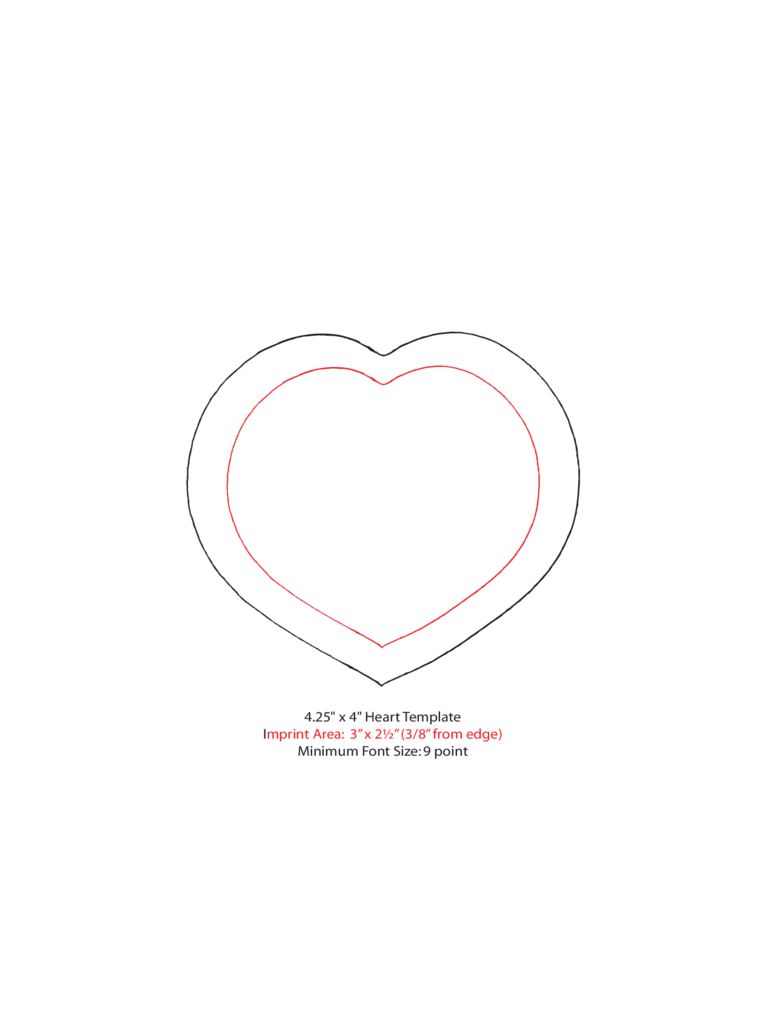 Heart Template - 7 Free Templates in PDF, Word, Excel Download