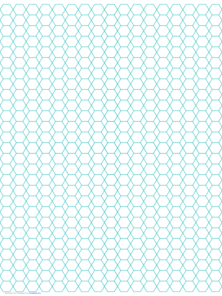 hexagon graph paper