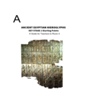 Ancient Egyptian Hieroglyphs Free Download