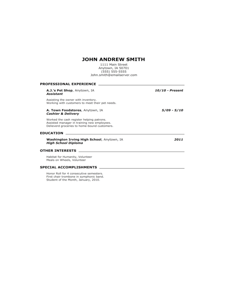 high school student resume cover letter Perfect for high school students who are applying for their first job, this gray-header cover leader has sample text for a student who is entering the workforce free.