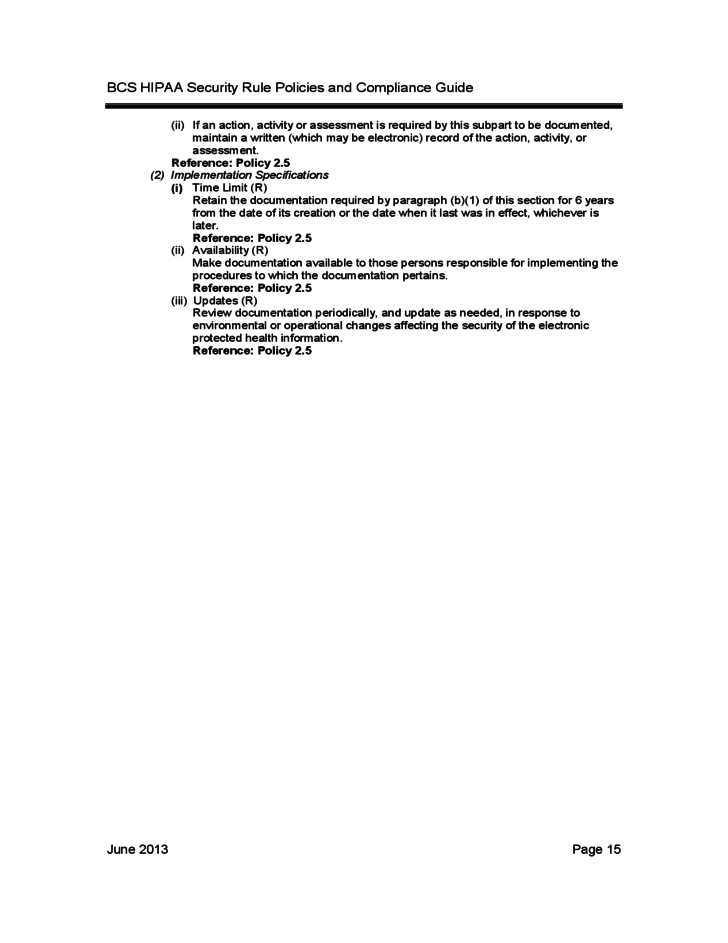 bcs hipaa security rule policies and compliance guide free download