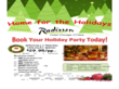 Sample Holiday Event Flyer