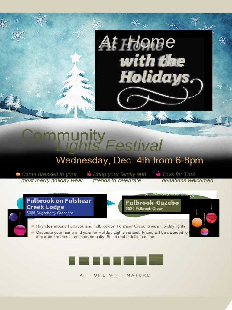 Holiday Flyer Event Sample