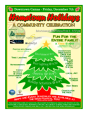Hometown Holidays Flyer Free Download
