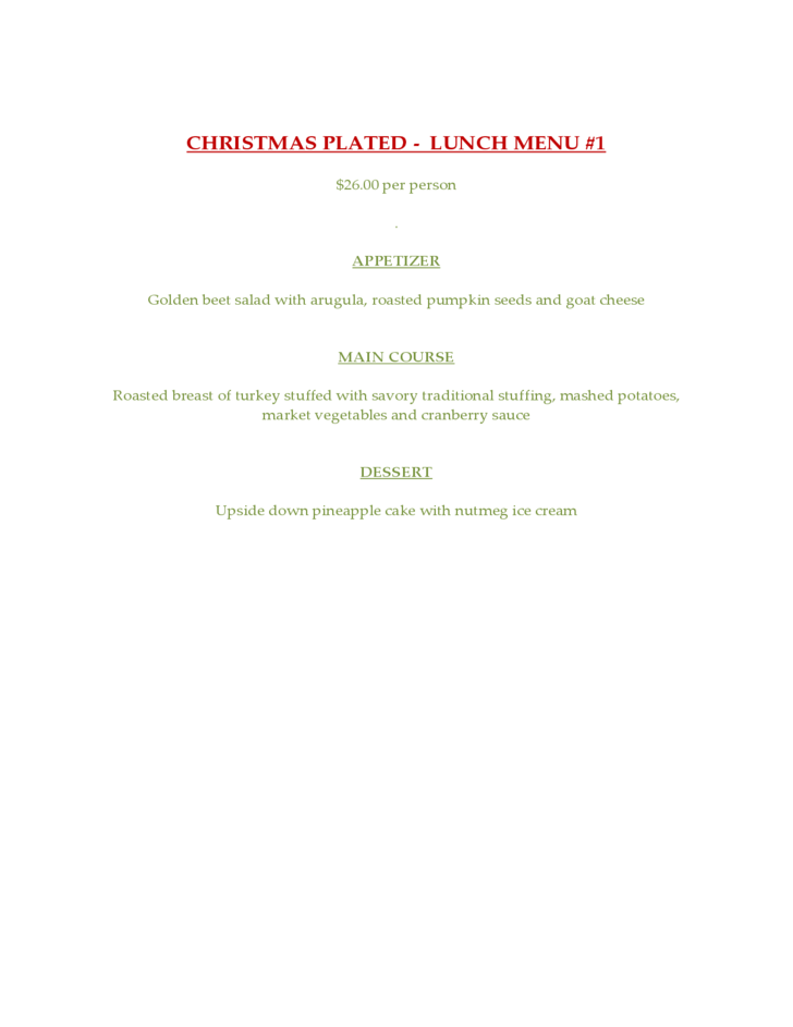 holiday party template