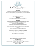 Christmas Dinner Menu Template Free Download