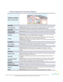 Sample Home Inspection Summary Report Free Download