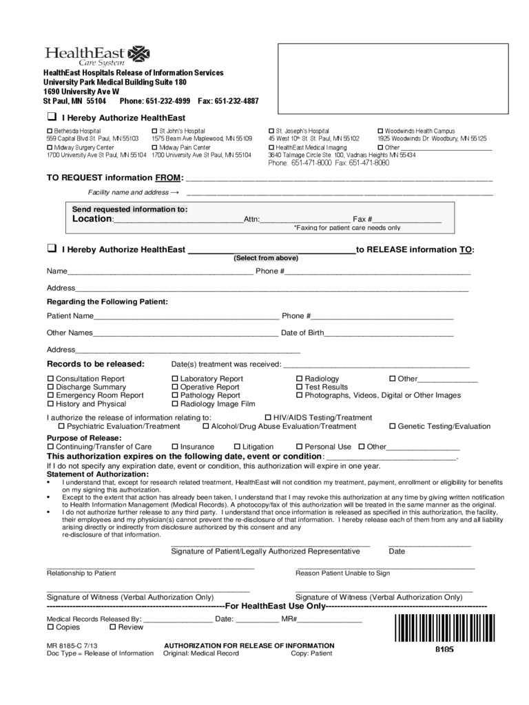 emergency room discharge template - hospital release form 2 free templates in pdf word