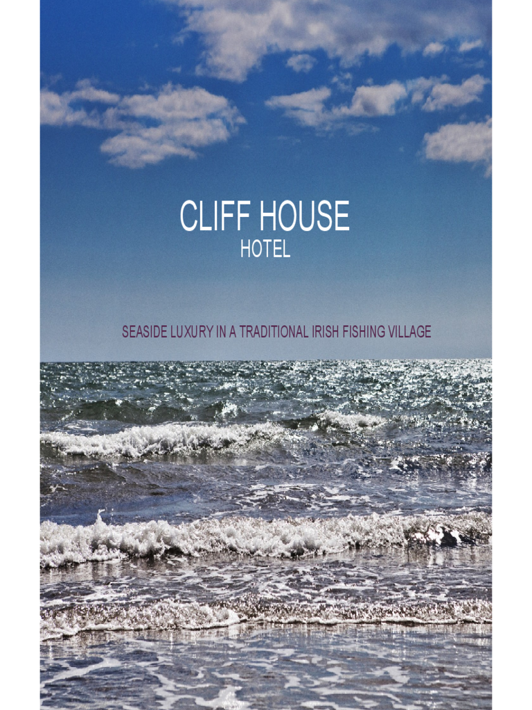 Hotel Brochure - Cliff House Hotel Free Download