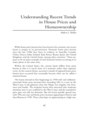 Recent Trends in House Prices and Homeownership Free Download