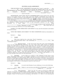 Hunting Rental and Lease Form - Maryland