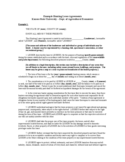 Hunting Rental and Lease Form - Kansas Free Download