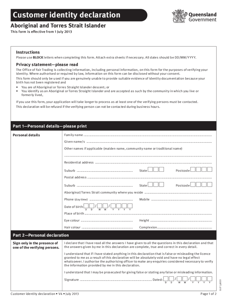 ... Declaration Form - 3 Free Templates in PDF, Word, Excel Download