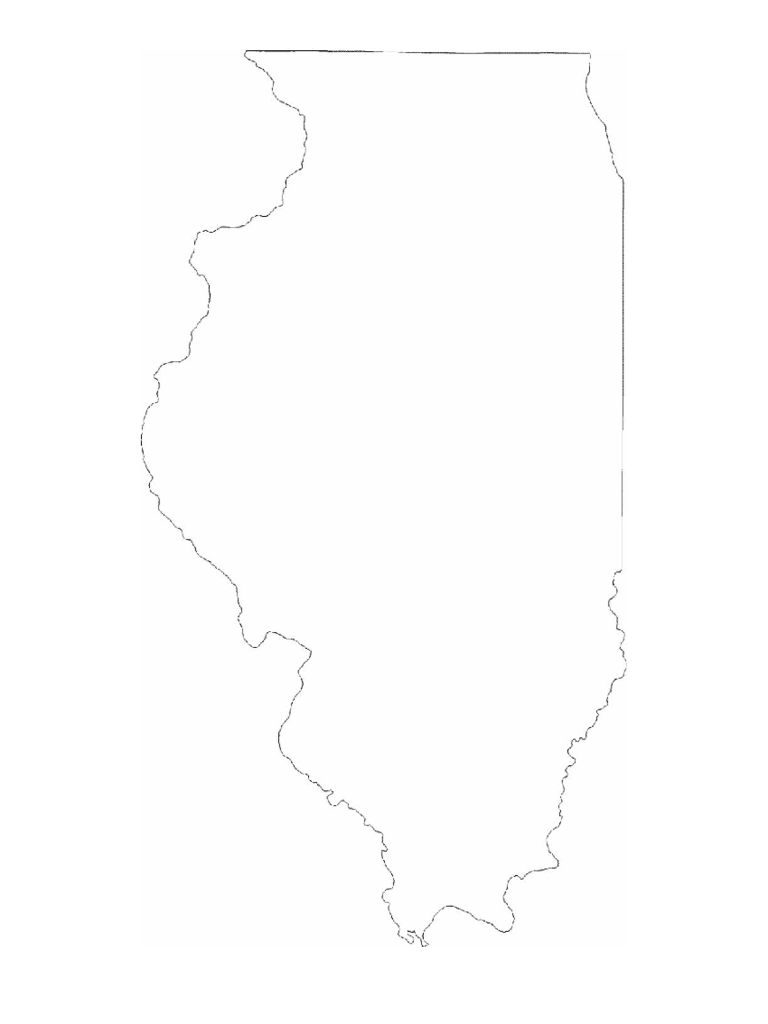 Map of Illinois Cities with City Names