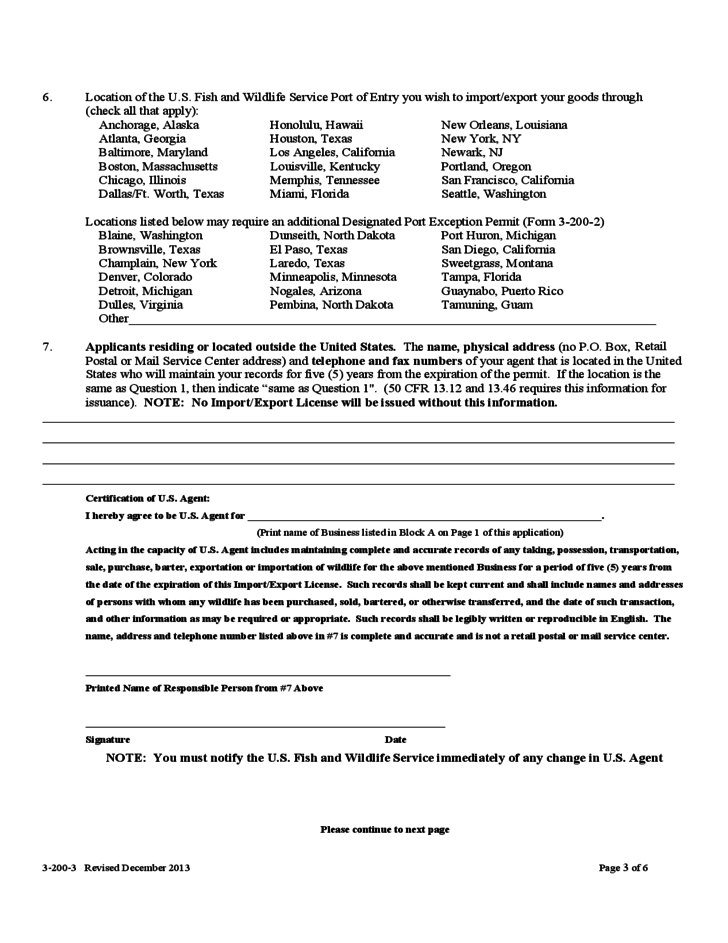 federal fish and wildlife permit application form free download