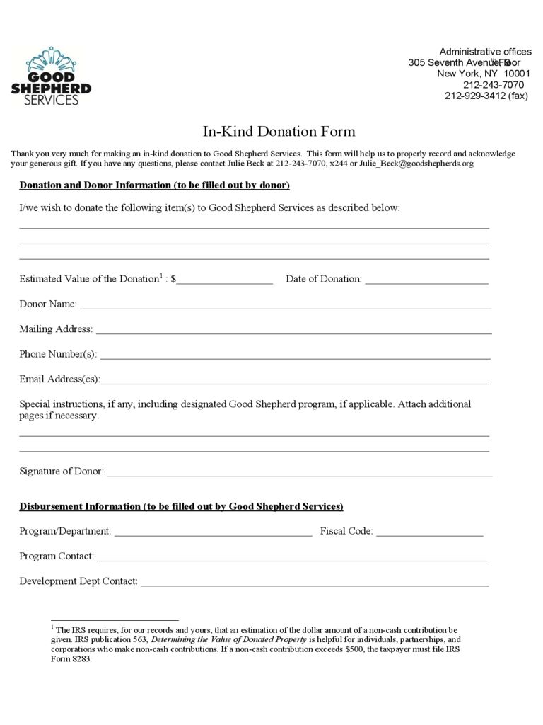 Donation and Sponsorship Form 20 Free Templates in PDF Word – Template Sponsor Form