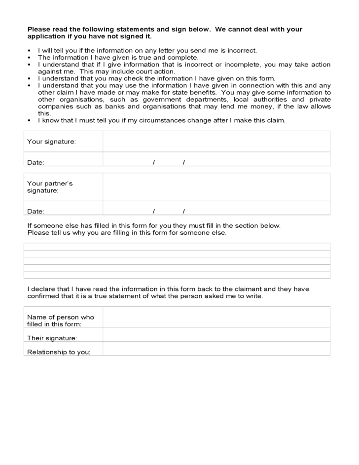 Income and Expenditure Form Template