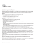 Installment Agreement Request Form Free Download