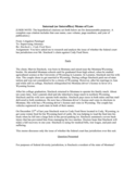 Internal (or Interoffice) Memo of Law Free Download