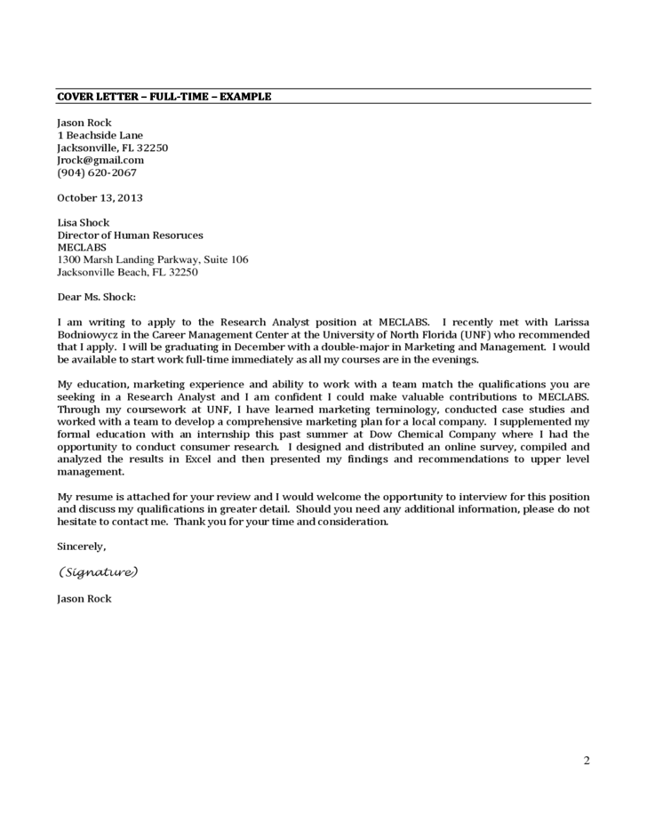 cover letter internship example free download cover - Cover Letter For Internship Example
