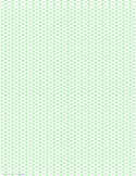 Isometric 1/4-Inch Figures Graph Paper (Triangles Only)
