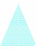 Triangular Coordinate Paper