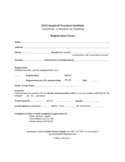 Iti Registration Form - Ohio Free Download