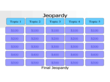 Sample Jeopardy Powerpoint Template
