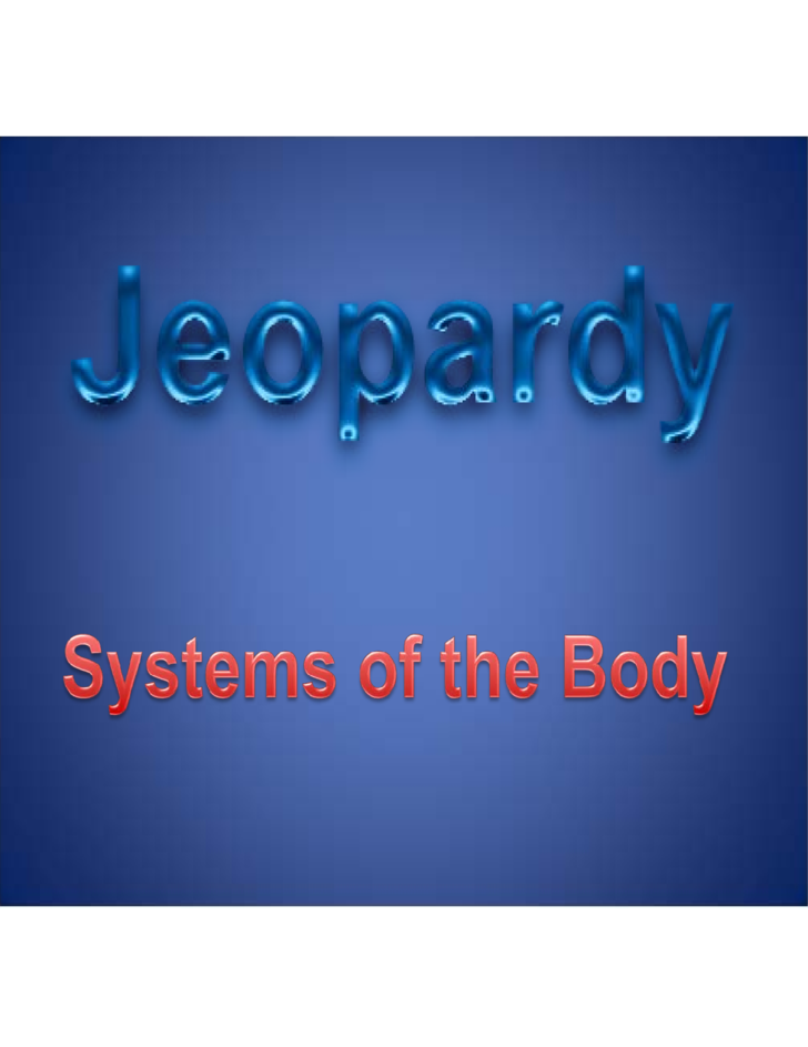 sample template of jeopardy powerpoint free download