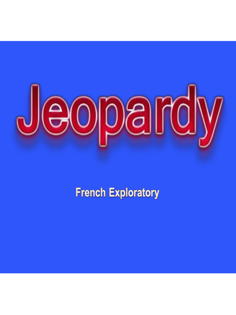 Blog archives technomemo for Jeopardy template with sound effects