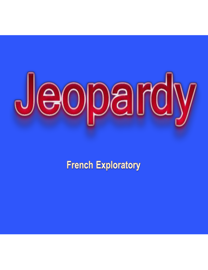 basic jeopardy powerpoint template free download