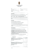 Job Performance Evaluation Form - New York Free Download