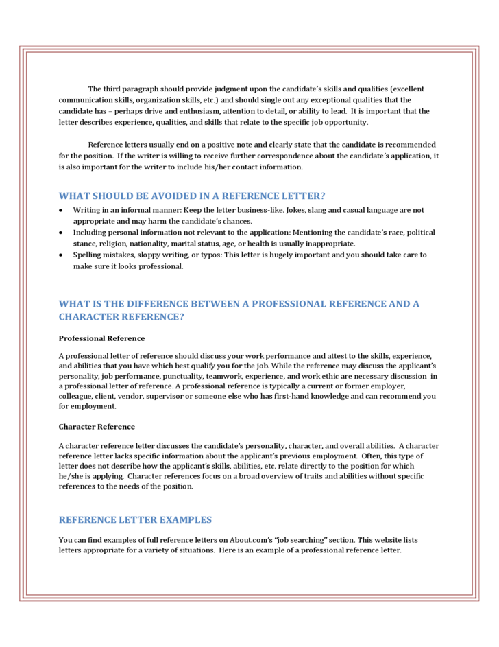 Professional Reference Letter Example from www.formsbirds.com