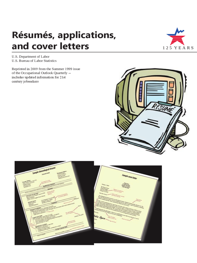 Resumes, Applications and Cover Letters