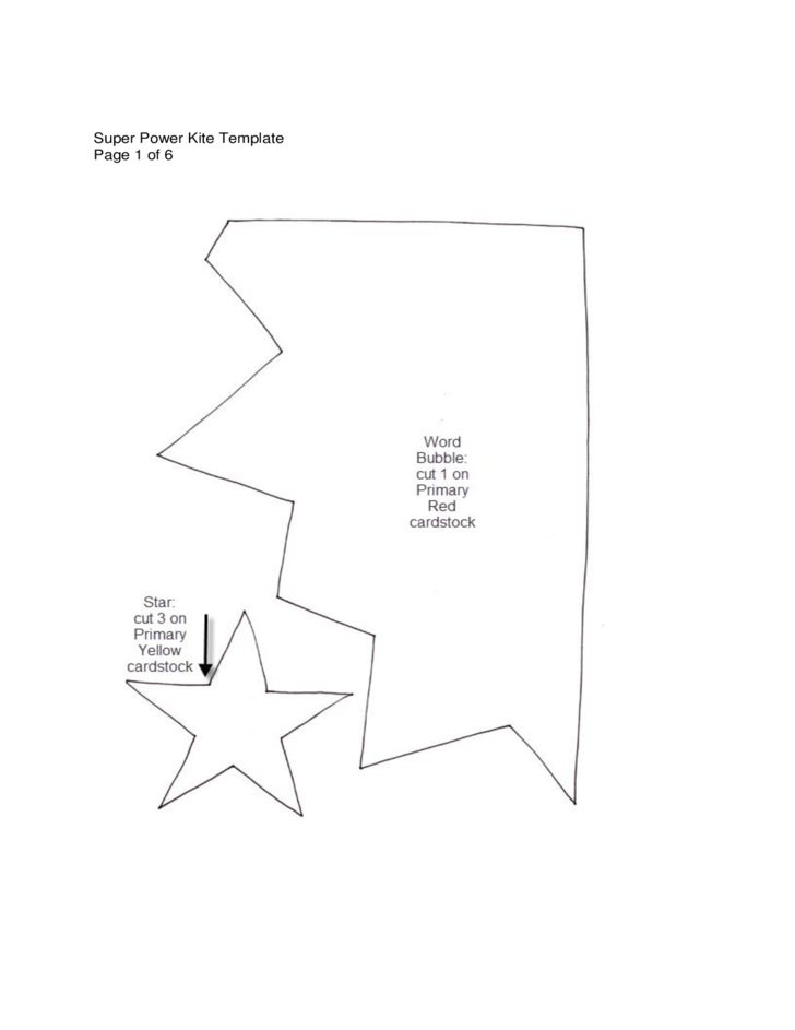 Sample kite templates free download for Tetrahedron kite template