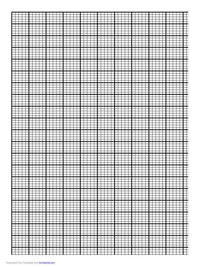 Paper printable graph paper free graph paper template in pdf – Ms Word Graph Paper