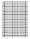 A4 Knitting Graph (Portrait) Free Download
