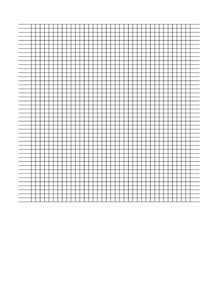 Sample Graph Paper Templates