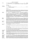 Form of Land Contract Free Download