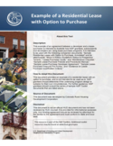 Lease Agreement With Option to Purchase Free Download