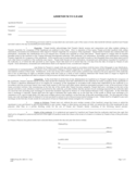 Addendum to Lease Form Free Download